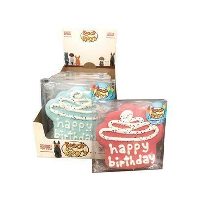 Bosco and Roxy's Birthday Cupcake