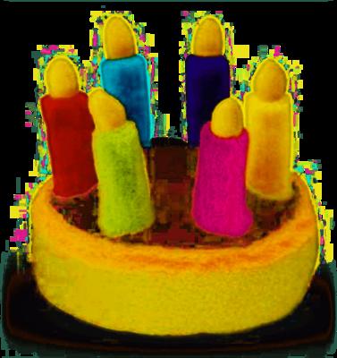 Multipet Birthday Cake