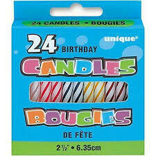 Birthday Candles 24ct
