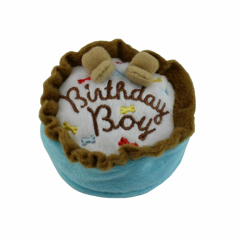 Happy Birthday Toy - Blue Cake Small