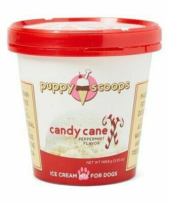 Puppy Scoops - Candy Cane