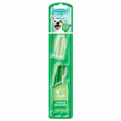Tropiclean 2pc Finger Brush
