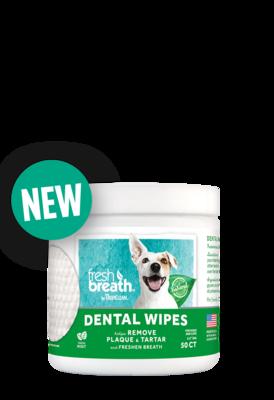 TropiClean Dental Wipes