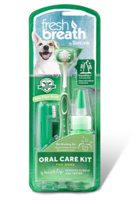 Tropiclean Oral Care Kit - Adult