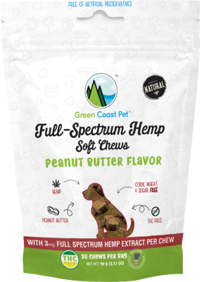 Full Spectrum Hemp - Peanut Butter