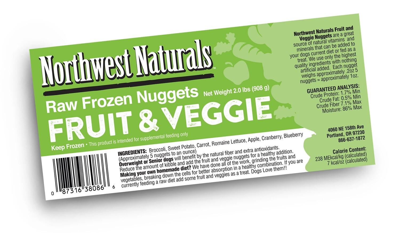 Northwest Naturals Fruits & Veggies 2lbs