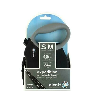 Alcott Retractable Leash- Black