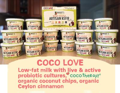 Healthy Nuggets Kefir- Coconut