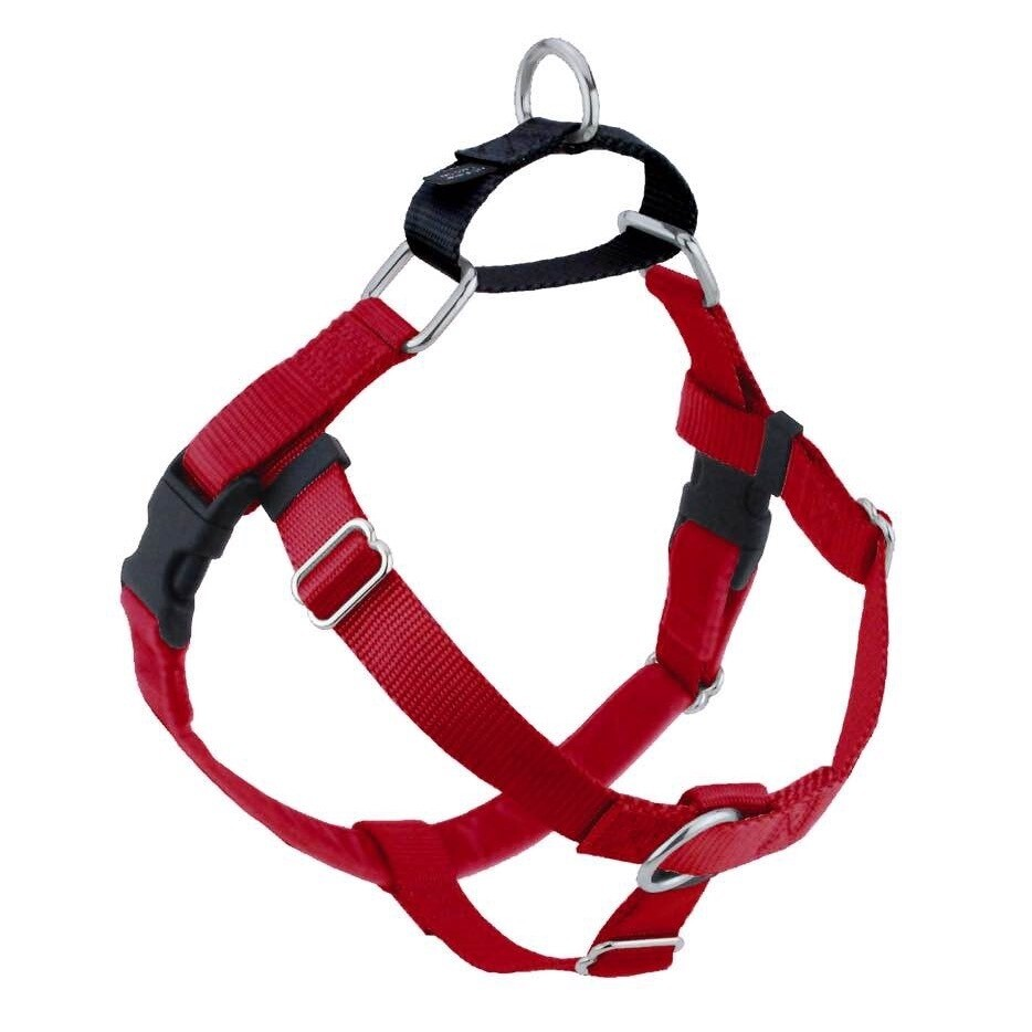 2 Hounds Harness Only Large Red