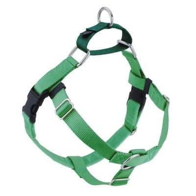 2 Hounds Harness Only Medium Neon Green