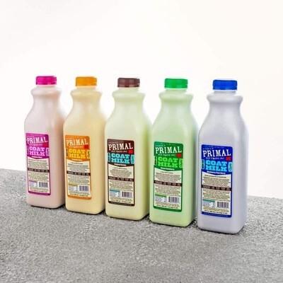 Primal Enhanced Goat Milks