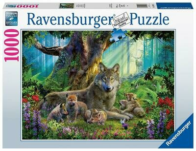 15987 Wolves in the Forest 1000pc Puzzle