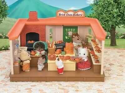Calico Critter Brick Oven Bakery