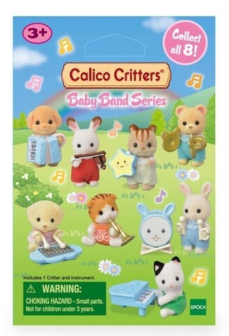 Calico Critter Baby Band Series Mystery Bags