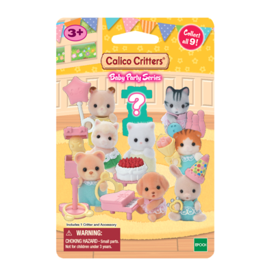 Calico Critter Baby Party Series Mystery Bags