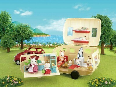 Calico Critter Calico Family Camper