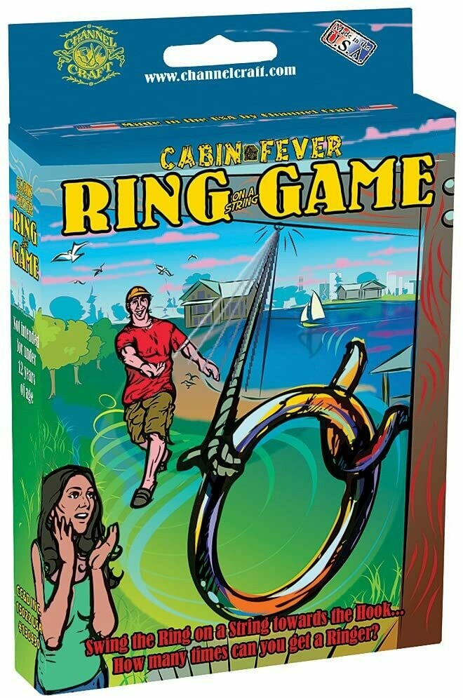 Cabin Fever Ring on a String Game