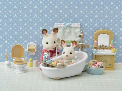 Calico Critter Country Bathroom Set