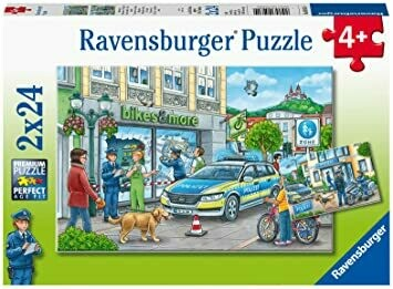 05031 Police at Work 2x24 Puzzle
