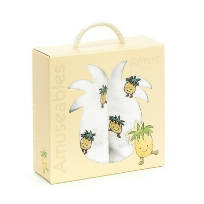 Amuseables Pineapple SO/2 Baby Muslins