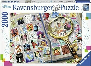 16706 My Favorite Stamps 2000pc Puzzle