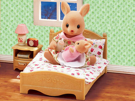 Calico Critters Parent's Bedroom