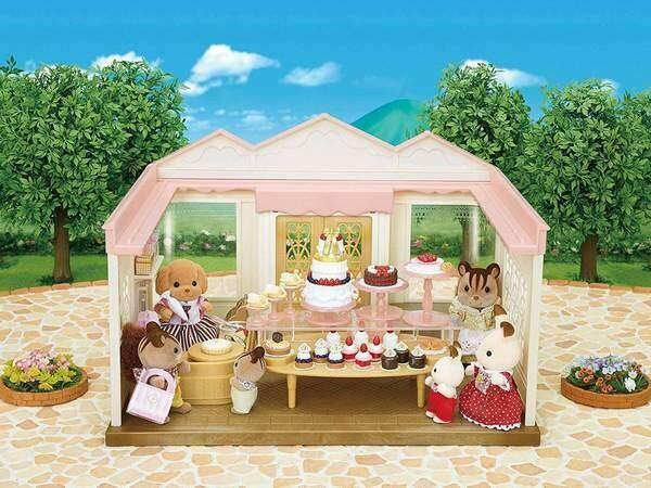 Calico Critter Village Cake Shop