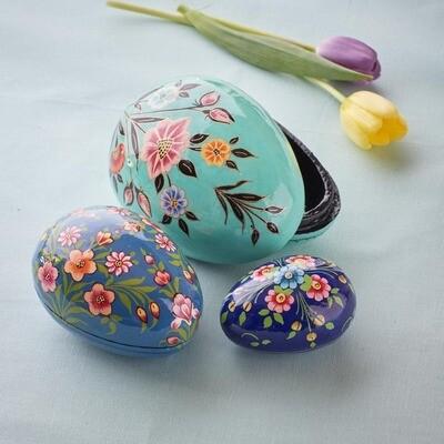 Kashmiri Nesting Eggs - 32616