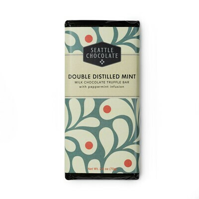 Double Distilled Mint Seattle Chocolate Bar