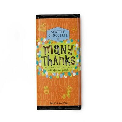 Many Thanks Seattle Chocolate Bar