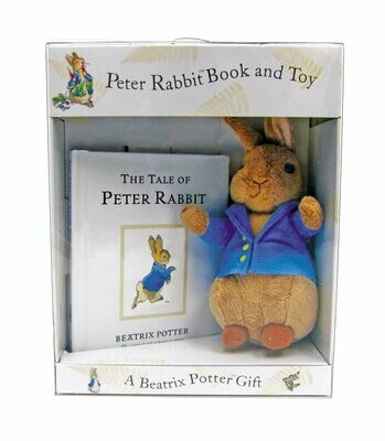 Beatrix Potter Gift Set: Peter Rabbit Book And Toy