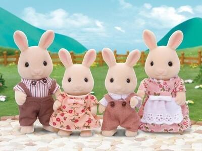 CC Sweetpea Rabbit Family