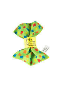 Baby Paper Green Stars