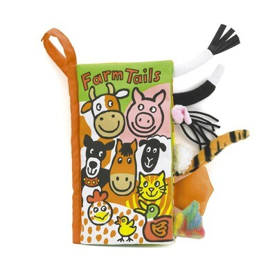 Farm Tails - Jellycat Soft Book