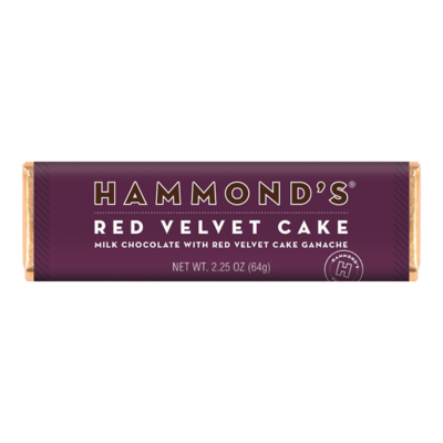 Red Velvet Cake Chocolate Bar - Hammonds