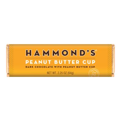 Peanut Butter Cup Dark Candy Bar - Hammonds