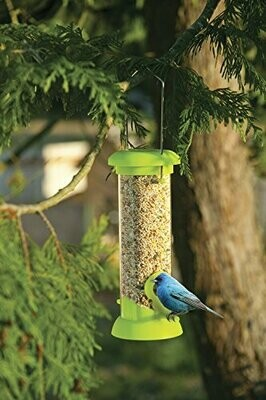 Bird Feeder with Field Guide