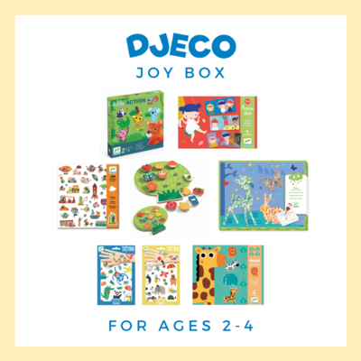 Djeco Joy Box, Ages 2-4 - Free Delivery!