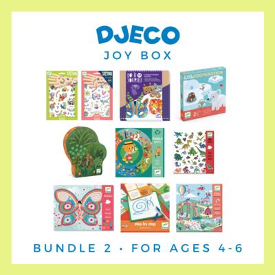 Djeco Joy Box, Ages 4-6 - Free Delivery!