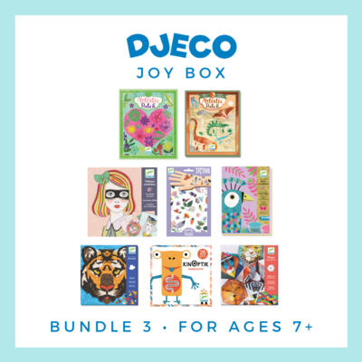 Djeco Joy Box, Ages 7+ - Free Delivery!