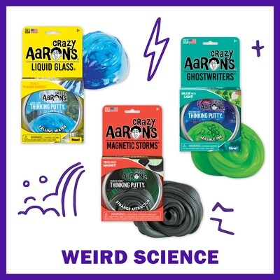 Crazy Aarons Bundles: Weird Science - FREE Shipping