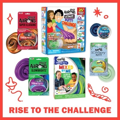 Crazy Aarons Bundle: Rise to the Challenge - FREE Shipping