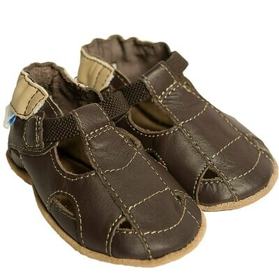 PROMO: Robeez Brown Sandal 9-12mo Shoes