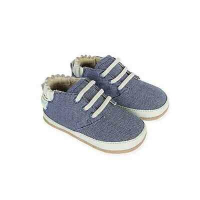 PROMO: Robeez Denim Blue Steven Low Top 9-12mo Shoes