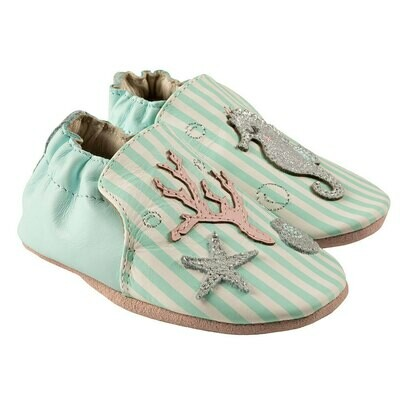 Robeez Coral Girls 12-18mo Shoes