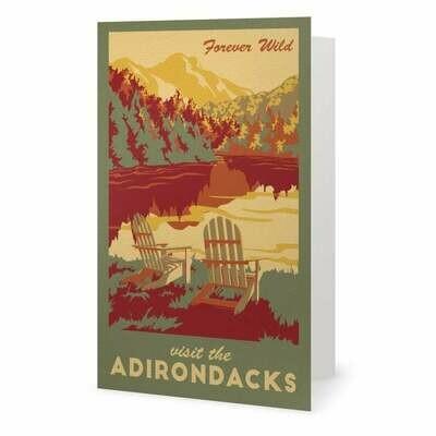Adirondack Note Card