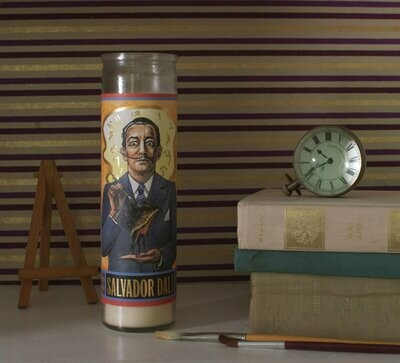 UPG Secular Saint Candle Salvador Dali