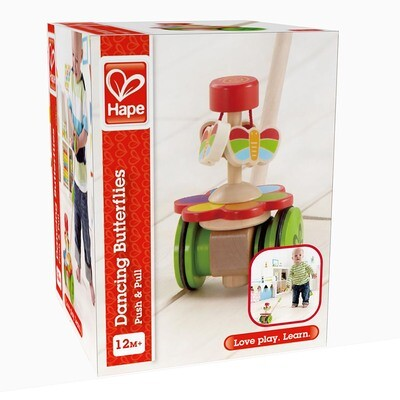 Dancing Butterflies Push Toy - Hape