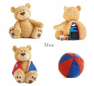 Max Buddy Ball - Red/Blue