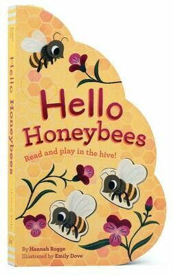 Hello Honeybees - Rogge - Board Book